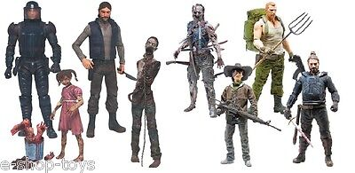 Mcfarlane The Walking Dead Comic Series2 & 3 Action Figures  Brand New