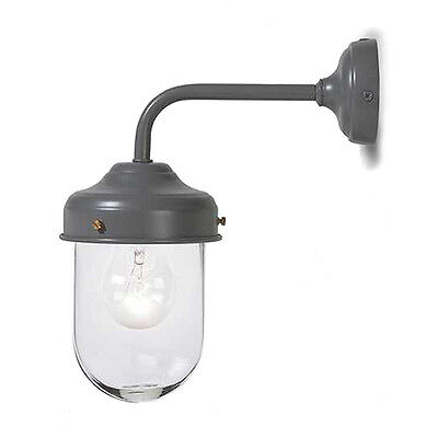 Barn Light in Charcoal by Garden Trading