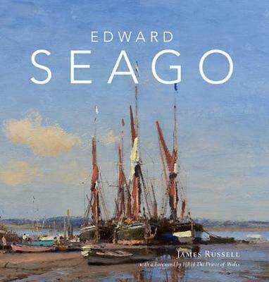 Edward Seago by James Russell Hardcover Book Free Shipping!