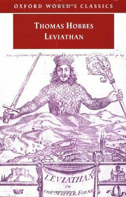 Leviathan (Oxford World's Classics) by Hobbes, Thomas Paperback Book The Cheap