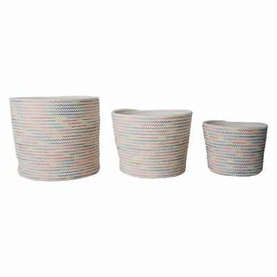 Oscar Rope Storage Basket (Set of 3)
