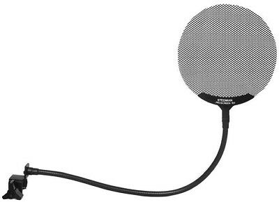 """Stedman Ps101 4.6"""" Microphone Pop Screen Filter Ps 101 20"""" Inch Clamp Arm"""