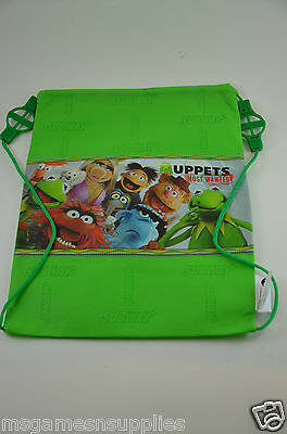 Disney Muppets Most Wanted * Entire Cast * Kids Childs Tote Bag / Backpack - NEW