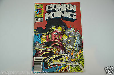 Conan the King #53 Vol. 53 (Jul 1989, Marvel) Comic Book - 7.0 FN/VF