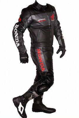 Motorbike Sports 100% Cowhide Leather Suit Racing Biker Suit Ce All Sizes