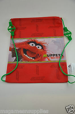 Disney Muppets Most Wanted * Animal * Kids Childs Tote Bag - Turns into Backpack