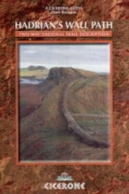 Hadrian's Wall Path: Two-way National Trail Descri... by Mark Richards Paperback