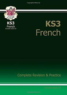 KS3 French Complete Revision & Practice with... by CGP Books Mixed media product