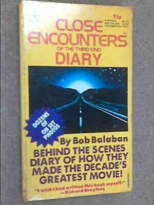 Close Encounters of the Third Kind Diary by Bob Balaban Book The Cheap Fast Free