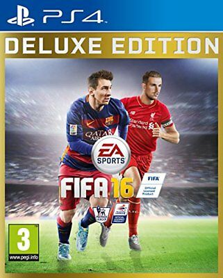 FIFA 16 Deluxe Edition (PS4) - Game  3GVG The Cheap Fast Free Post