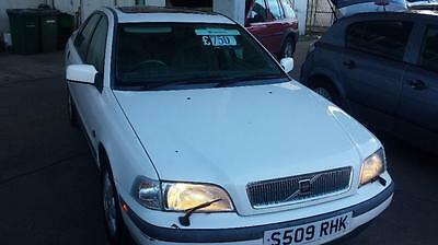VOLVO S40 DIRECT INJECTION, White, Manual, Petrol, 1998