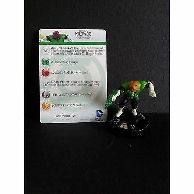 Kilowog 028 - War of Light - Heroclix