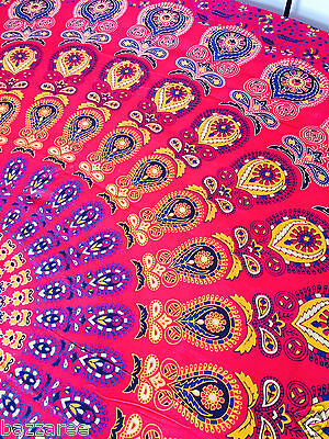 Large Hippie Mandala Tapestry Indian Wall Hanging Bedspread Bedcover Bohemian