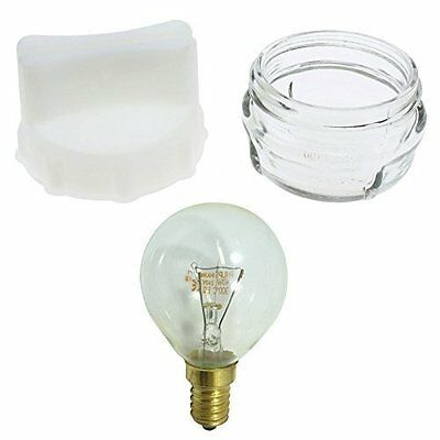 Cooker Oven Glass Lamp Cover & Removal Tool + Free 40W Bulb For Bosch Neff