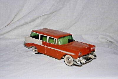 1956 Chevy Bel Air, Station Wagon, Coin Bank, Promo, PMC. USA