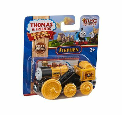 "Mattel Fisher-Price Y4485 Locomotiva in Legno dalla serie ""Il Trenino Thom"