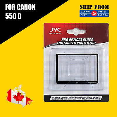 JYC Pro LCD Screen GLASS Protector Cover For Canon 550D