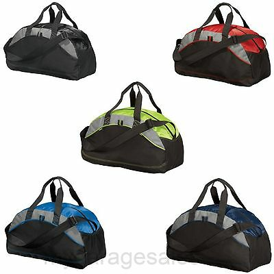 3a00c69c49f1 SMALL DUFFEL BAG Gym Travel Carry On Bag Workout School Sports Port &  Company