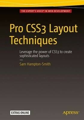 Pro Css3 Layout Techniques by Sam Hampton-Smith Paperback Book (English)