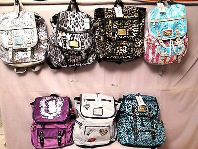 Juicy Couture Gorgeous Backpacks Assorted Colors,sequined,velour Bnwt