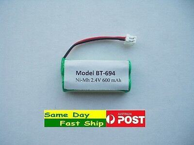 New HQ fresh Rechargeable Ni-Mh 600mAh 2.4V Battery for Uniden BT-694 BT-694S