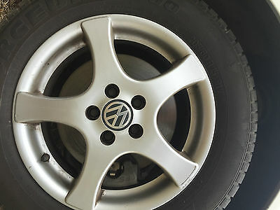 Vw Golf Mk4 Vw Beetle  Used Genuine15 Inch  Mag Wheel