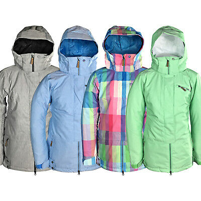 New Roxy Brooke Womens Snow Jacket Ski Snowboard Waterproof Ladies Waterproof