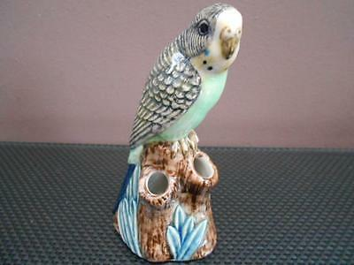 Budgerigar Bud Vase Green Budgerigar Flower Bud Vase Green Budgie Vase NEW