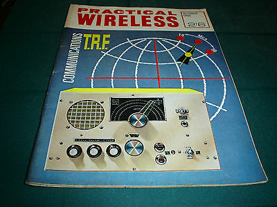 Vintage Practical Wireless Magazine October 1966 Communications T.r.f.