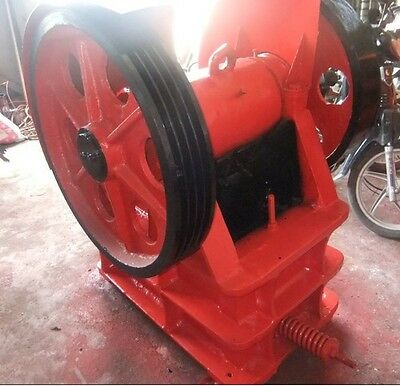 New PE150 X 250 Universal Jaw Crusher With 5.5KW 50Hz/60hz Motor FreeShip By Sea