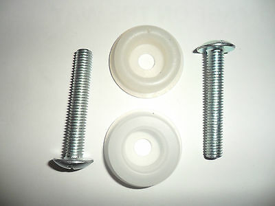 Headboard Bolts And Washers Two Screws and Washers Fast Post (AA05)