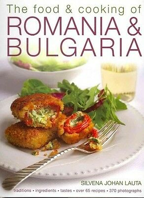 The Food & Cooking Of Romania & Bulgaria - New Hardcover Book