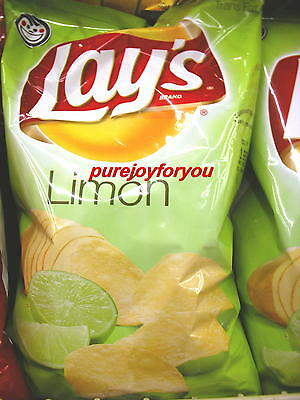 Frito Lay Lay's LIMON LIme Flavored Potato Chips BAG NEW FRESH FAST SHIPPING