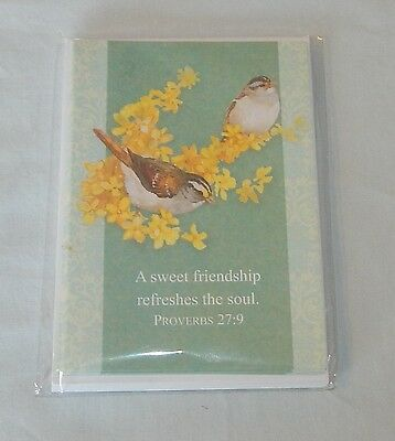 DAYSPRING Christian GREETING CARDS Blank Note Envelopes BIBLE VERSE New In Pack