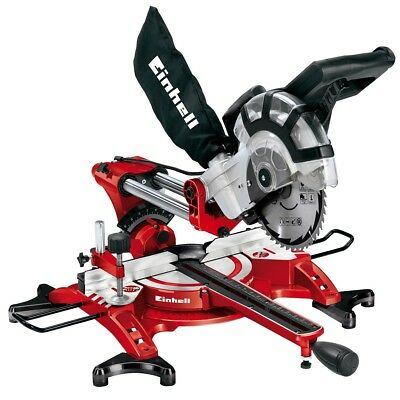 Einhell Scie à onglet TC-SM 2131 dual radiale multi-usages 1500 W