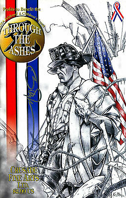 Shi: Through The Ashes 911 World Trade Center Tribute Signed William Tucci (Lg)