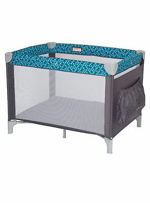 Babylove Cruiser Portable Travel Cot (Blue Spots) Free Shipping!