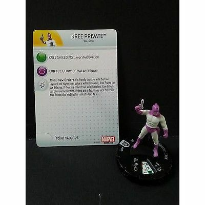 Kree Private 007a - Guardians of the Galaxy - Heroclix