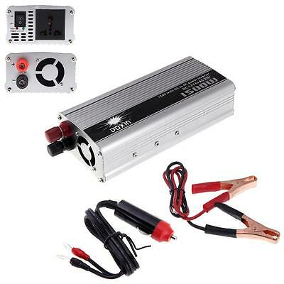 DC 12V to AC 110V Portable Car Power Inverter Charger Converter 1500W WATT