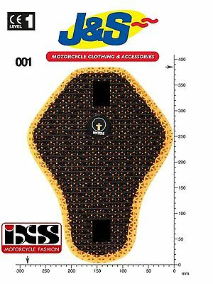 Forcefield Super-Lite Ixs Back Insert 001 Motorcycle Jacket Back Protector J&s