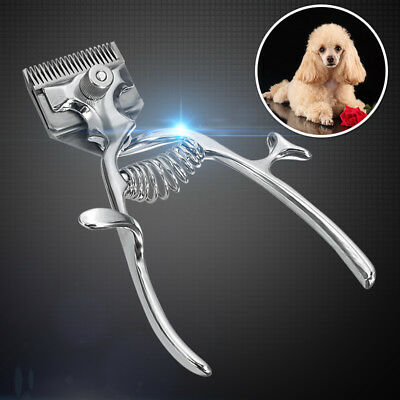 Professional Cat Dog Hair Trimmer Animal Grooming Kit Pet Hand Clippers Shaver