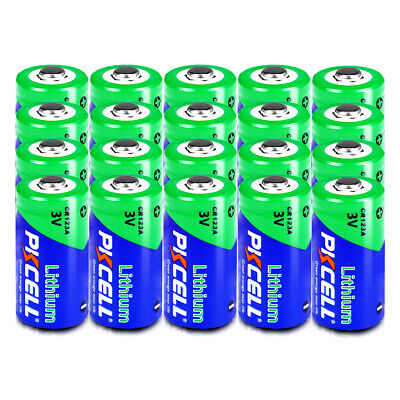 (Pack of 20) CR123 CR123A CR17345 K123 3V Lithium Camera Photo Batteries PKCELL