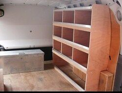 Vauxhall Combo Pre 2012 Offside Plywood Racking / Shelving System