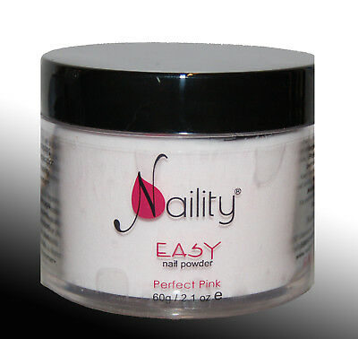 poudre acrylique Naility EASY perfect pink  400g