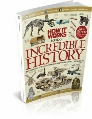 How It Works Book of Incredible History Revised Edition by Imagine Publishing