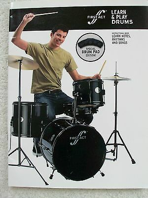 Cavalier First Act Learn & Play Drums Info Photos Music Unmarked