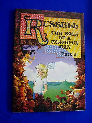 Russell the Saga of a Peaceful Man 2: Pete Loveday UK underground.1st. VFN.