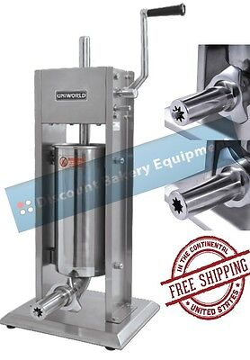 Churro Making Machine Deluxe Stainless Steel 5lb Capacity, UCM-DL3