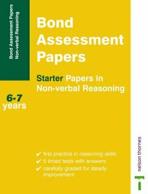 Bond Assessment Papers: Starter Papers in Non-ve... by Primrose, Alison Pamphlet