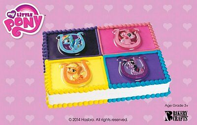 NEW SET OF 24 My Little Pony CUPCAKE TOPPERS CAKE TOPPERS - $6 99